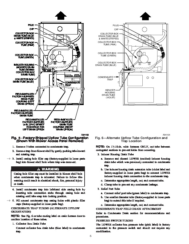 Carrier 58MSA 4SI Gas Furnace Owners Manual