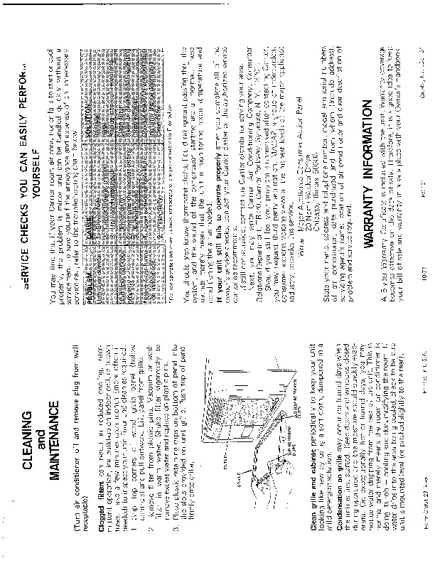 Carrier 51 27 Heat Air Conditioner Manual