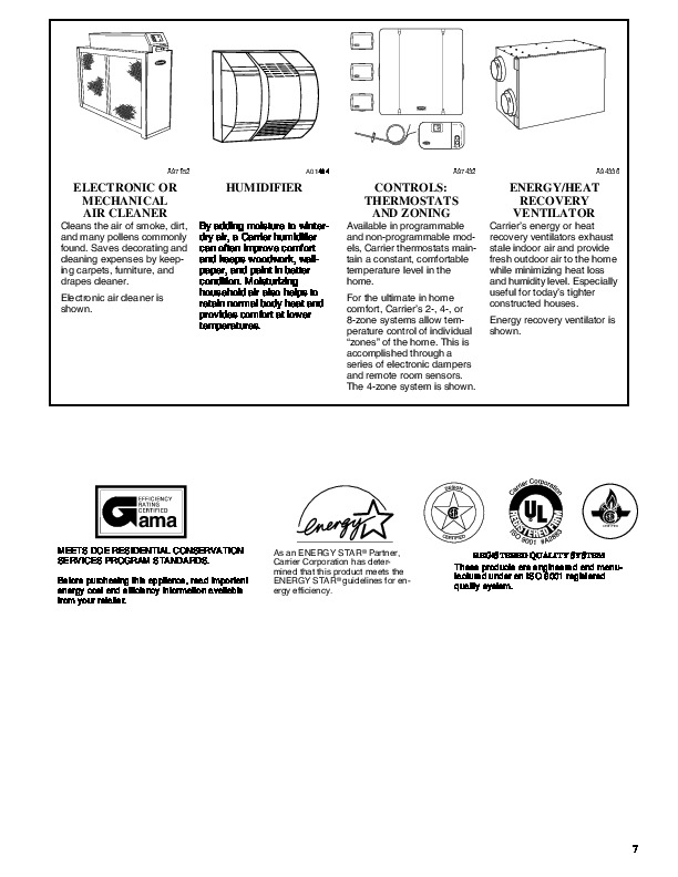 Carrier 58MVP 10PD Gas Furnace Owners Manual