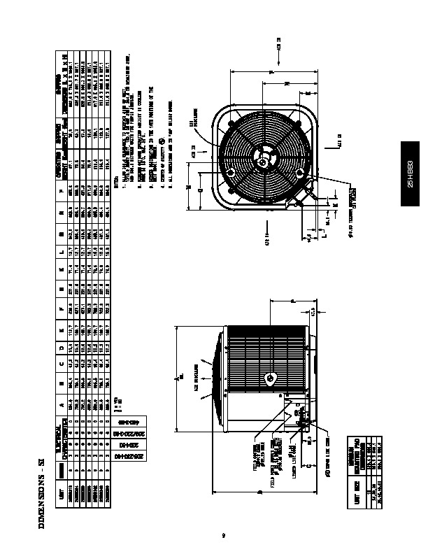 Carrier 25hbb3 3pd Heat Air Conditioner Manual