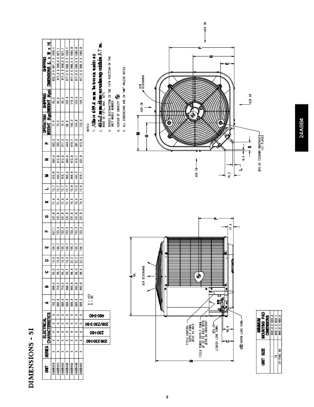 Carrier 24abb4 3pd Heat Air Conditioner Manual
