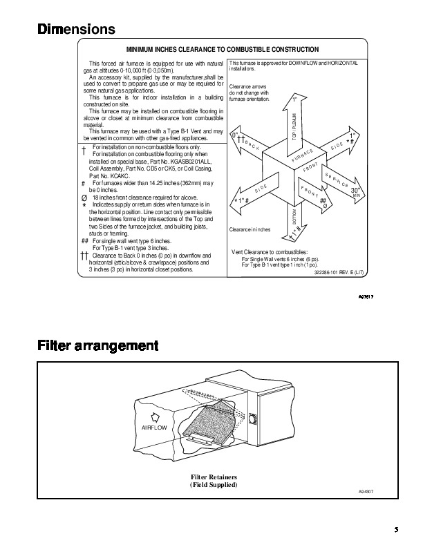 Carrier 58TMA 8PD Gas Furnace Owners Manual