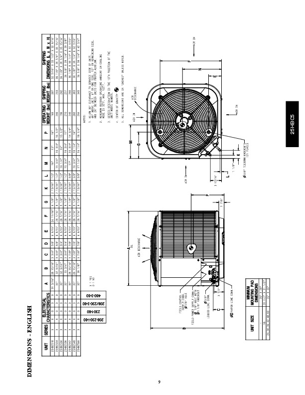 Carrier 25hbc5 1pd Heat Air Conditioner Manual