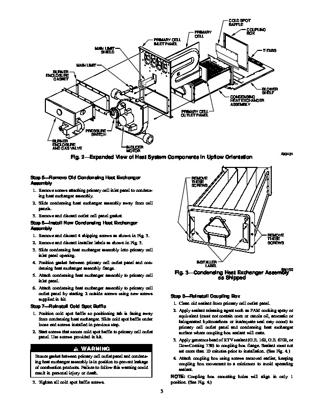 Carrier 58M 77SI Gas Furnace Owners Manual