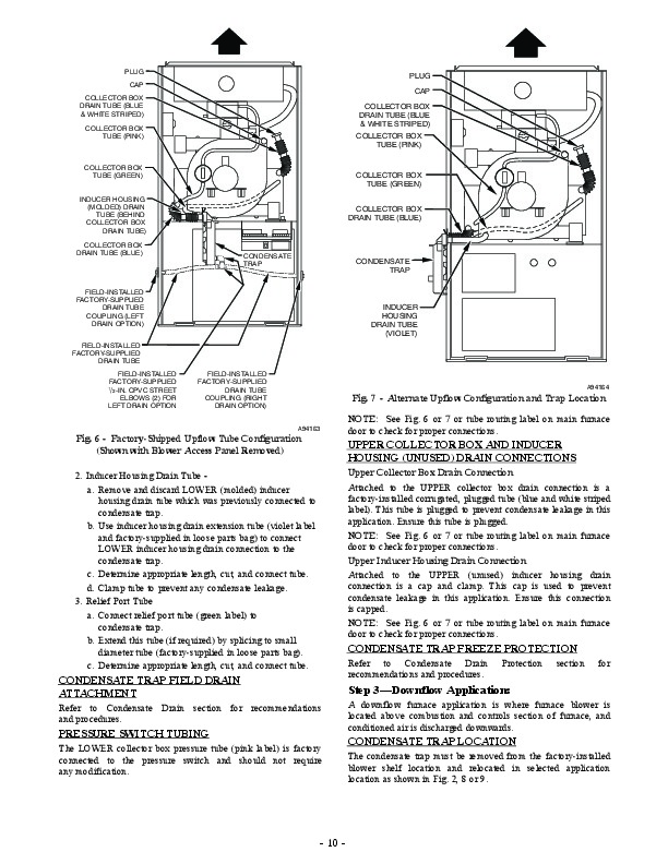 Carrier 58MEB 04SI Gas Furnace Owners Manual