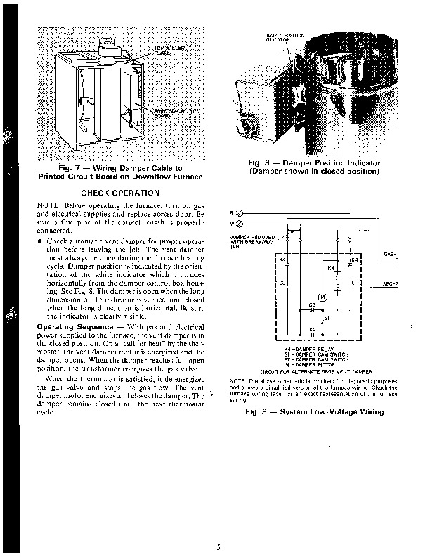 Carrier 58GS 5SI Gas Furnace Owners Manual