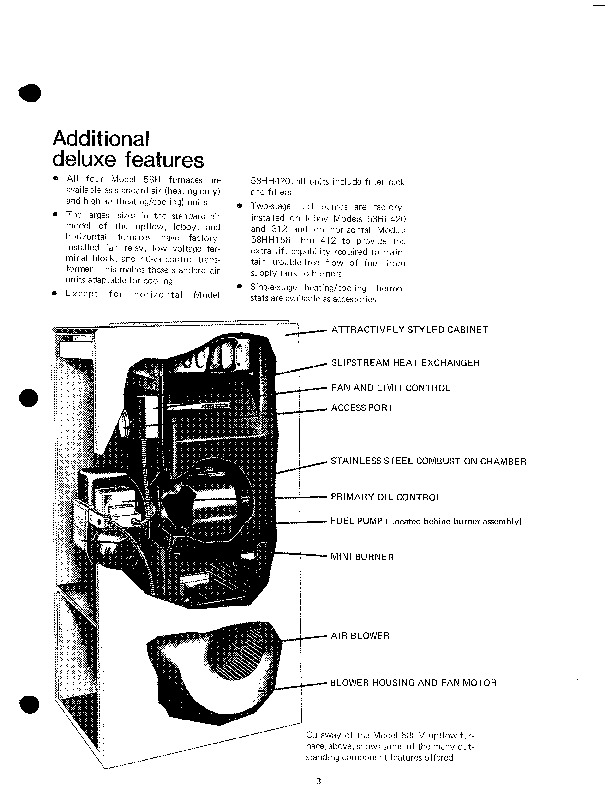 Carrier 58H 2P Gas Furnace Owners Manual