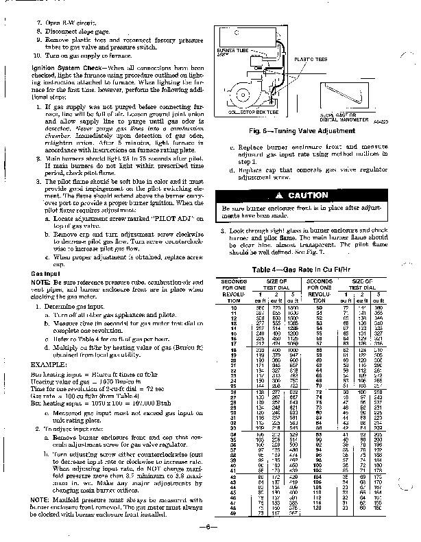 Carrier 58SX 9XA Gas Furnace Owners Manual