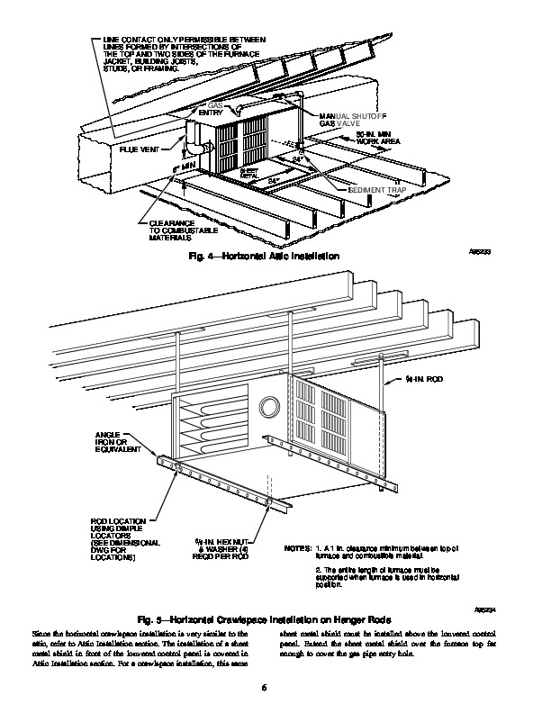 Carrier 58UHV 1SI Gas Furnace Owners Manual