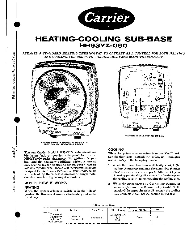 Carrier 58CC 50415 Gas Furnace Owners Manual