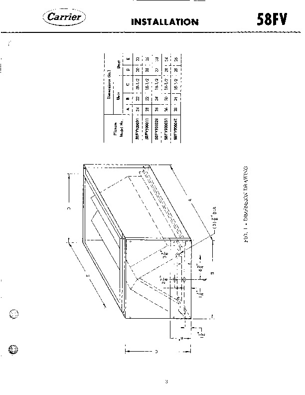 Carrier 58FV501005 Gas Furnace Owners Manual