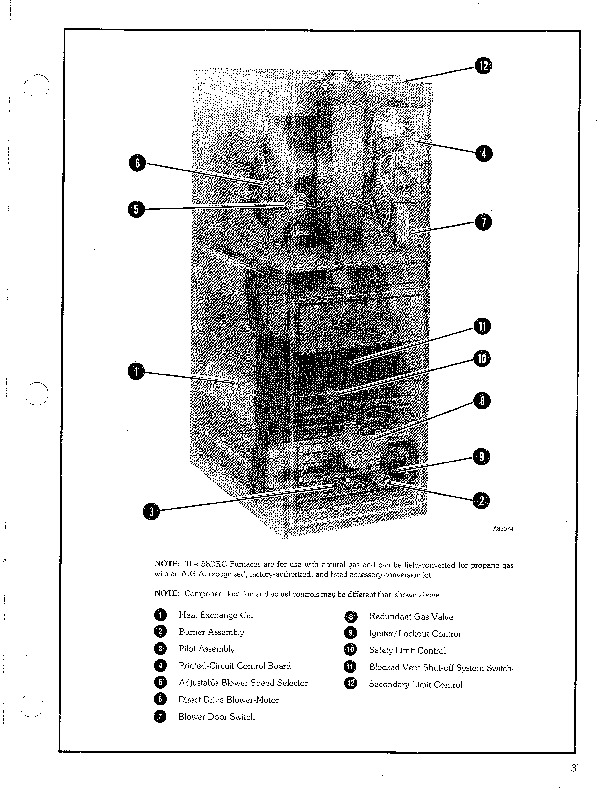 Carrier 58DRC 3PD Gas Furnace Owners Manual