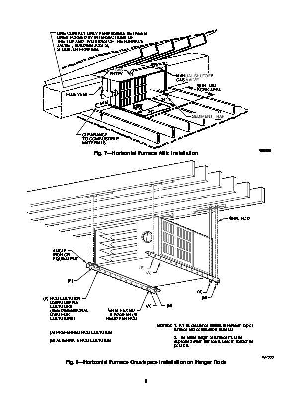 Carrier 58UHV 4SI Gas Furnace Owners Manual