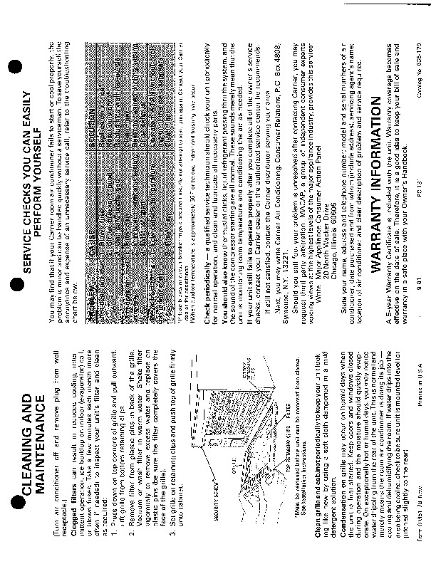 Carrier 51 78 Heat Air Conditioner Manual