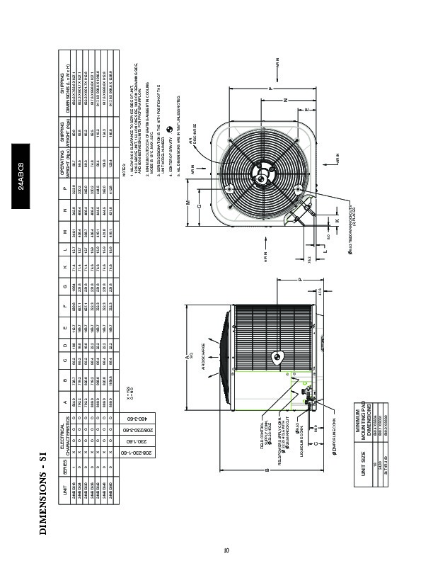 Carrier 24abc6 1pd Heat Air Conditioner Manual