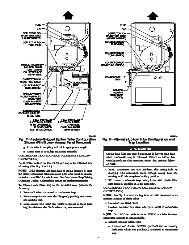Carrier 58MVP 13SI Gas Furnace Owners Manual
