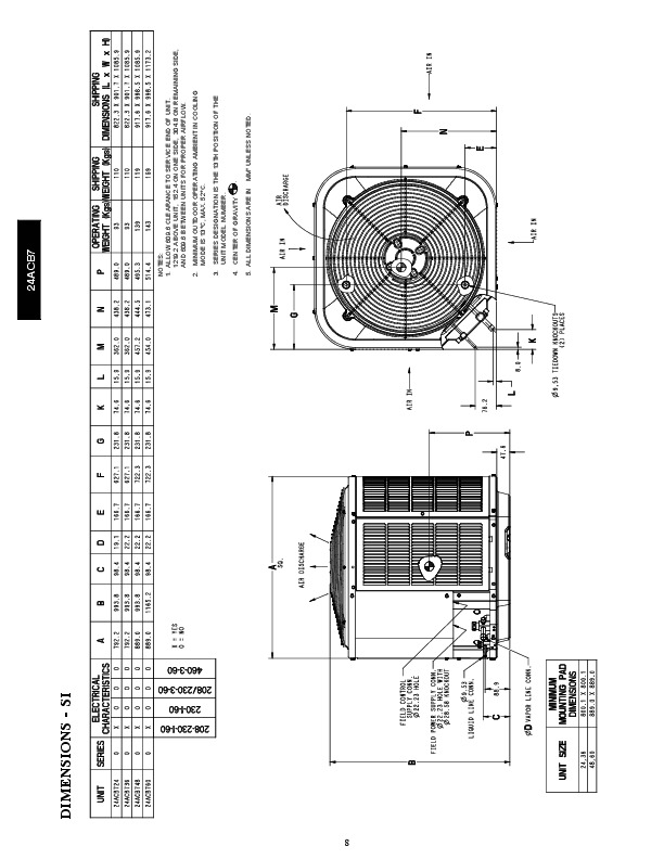 Carrier 24acb7 1pd Heat Air Conditioner Manual