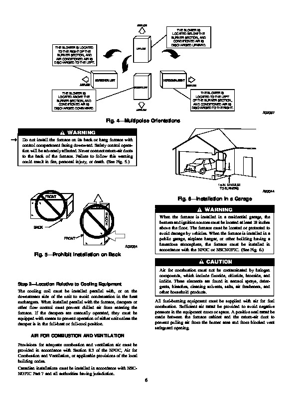 Carrier 58DL 3SI Gas Furnace Owners Manual