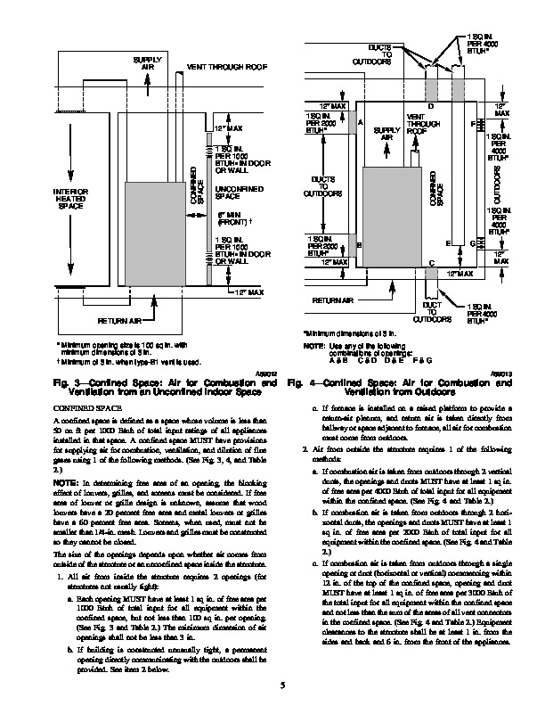 Carrier 58WAV 10SI Gas Furnace Owners Manual