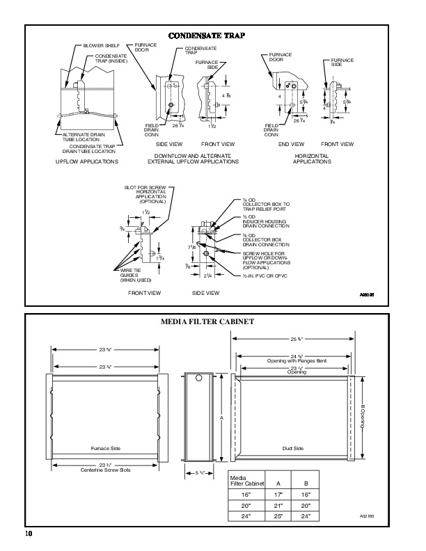 Carrier 58MTA 2PD Gas Furnace Owners Manual