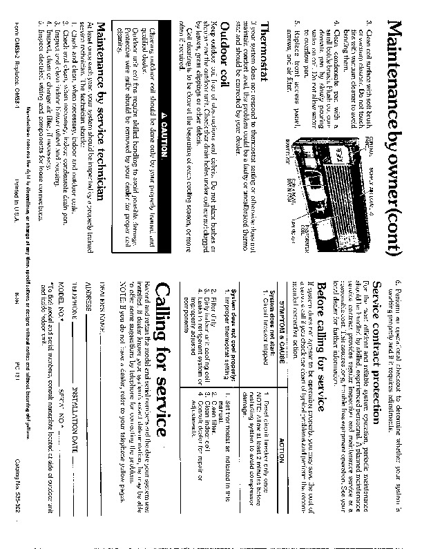 Carrier 53 2 Heat Air Conditioner Manual