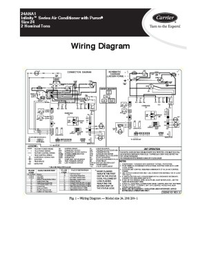 Carrier 24ana1 1w Heat Air Conditioner Manual