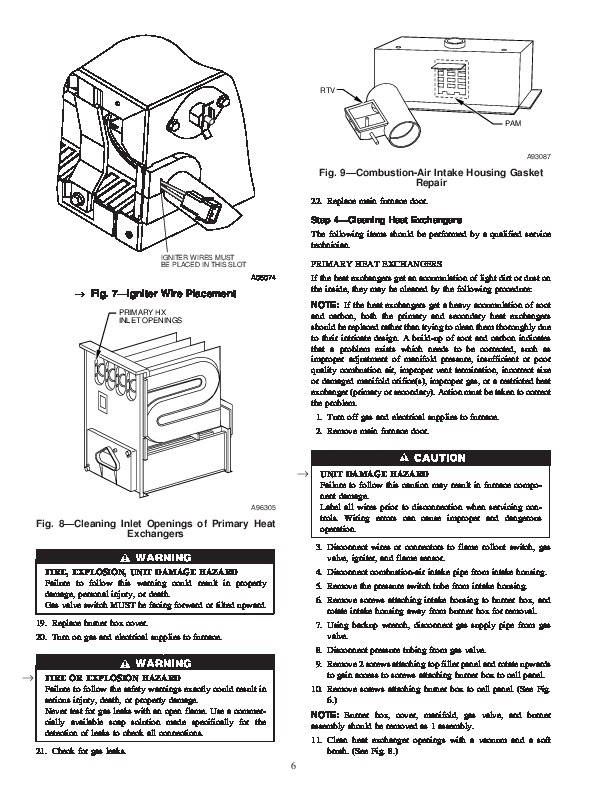 Carrier 58MCB 1SM Gas Furnace Owners Manual