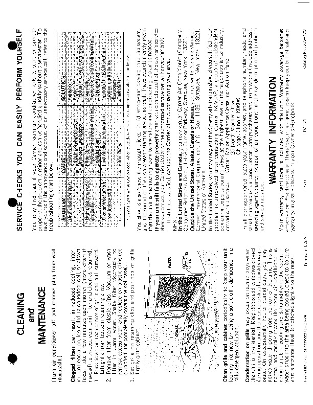 Carrier 51 39 Heat Air Conditioner Manual