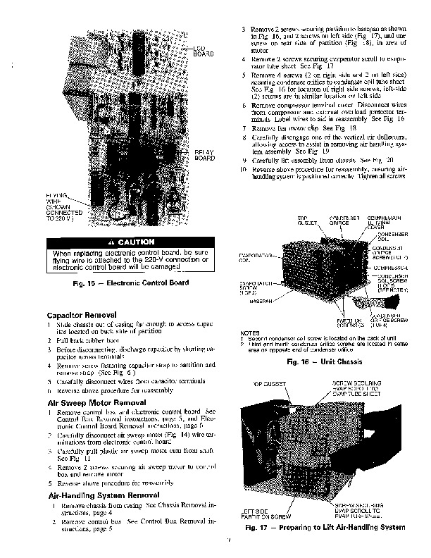 Carrier 73xc 1ss Heat Air Conditioner Manual