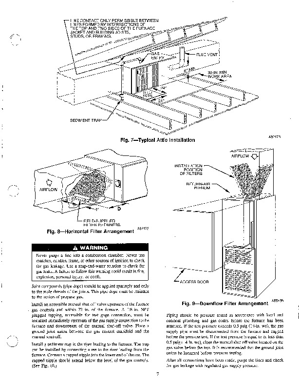 Carrier 58SMA 1SI Gas Furnace Owners Manual