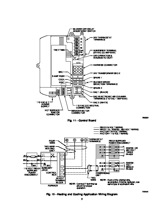 Carrier 58RA 8SI Gas Furnace Owners Manual