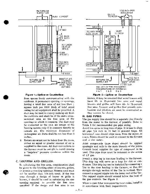 Carrier 58 Series 2XA Gas Furnace Owners Manual