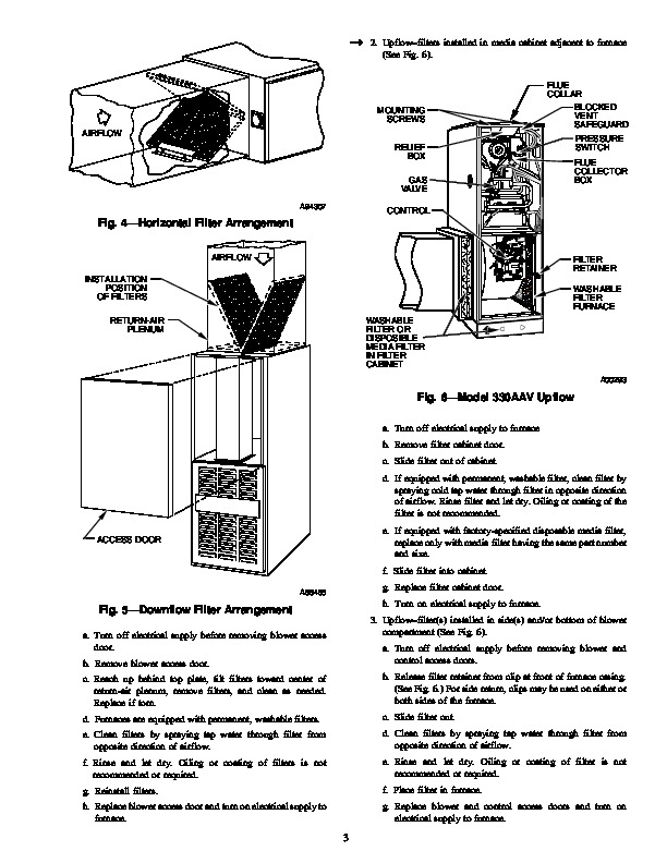 Carrier 58T 6SM Gas Furnace Owners Manual