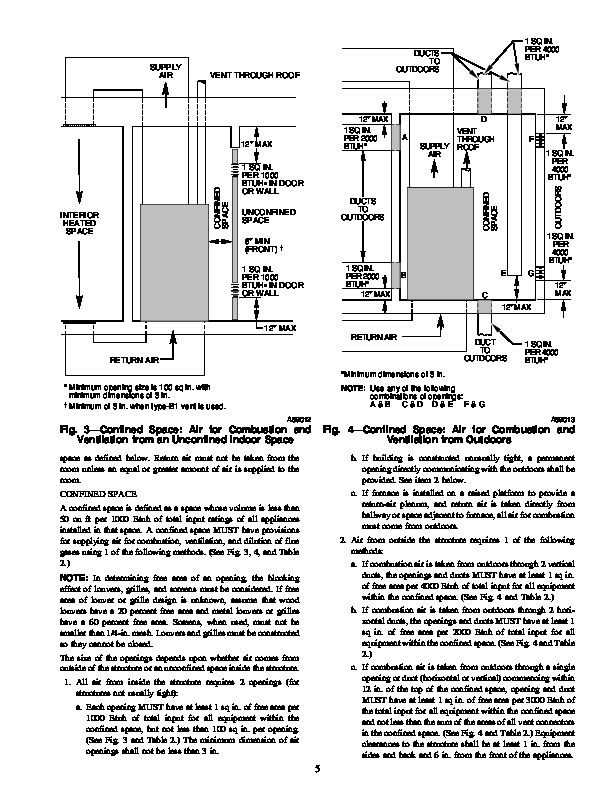 Carrier 58WAV 9SI Gas Furnace Owners Manual