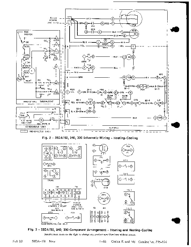 Carrier 58DA 1W Gas Furnace Owners Manual