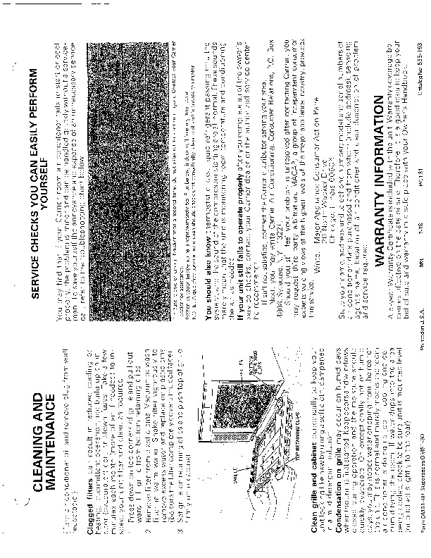 Carrier 51 6 Heat Air Conditioner Manual