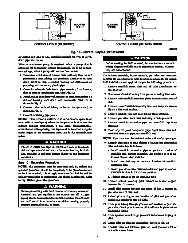 Carrier 58EJB 1SI Gas Furnace Owners Manual