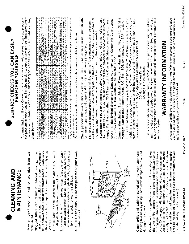 Carrier 51 97 Heat Air Conditioner Manual