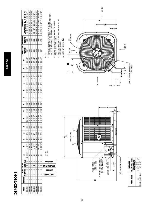 Carrier 24acb4 1pd Heat Air Conditioner Manual