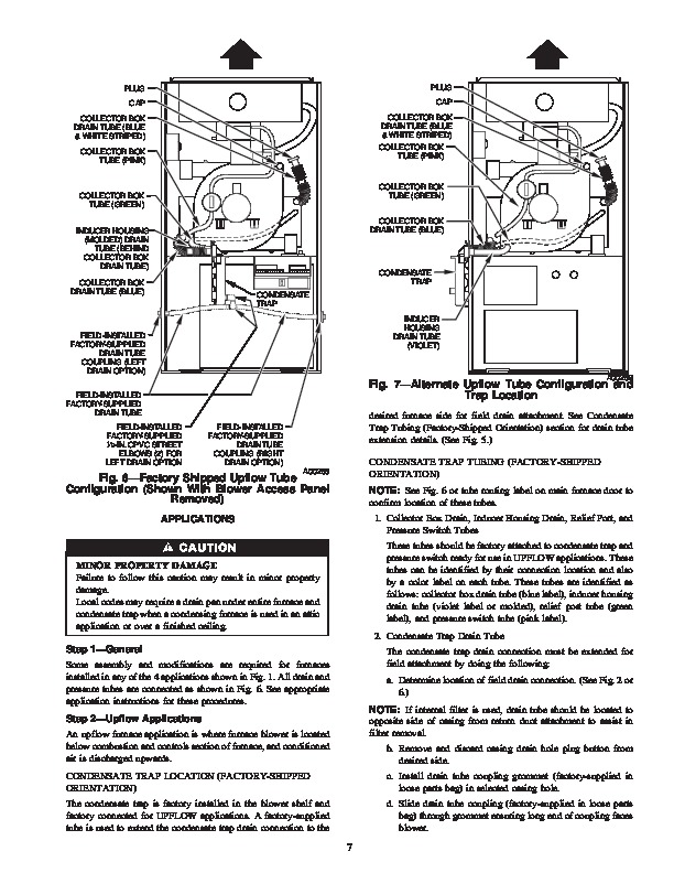 Carrier 58MCB 1SI Gas Furnace Owners Manual
