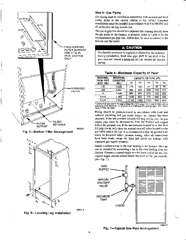 Carrier 58TUA 2SI Gas Furnace Owners Manual