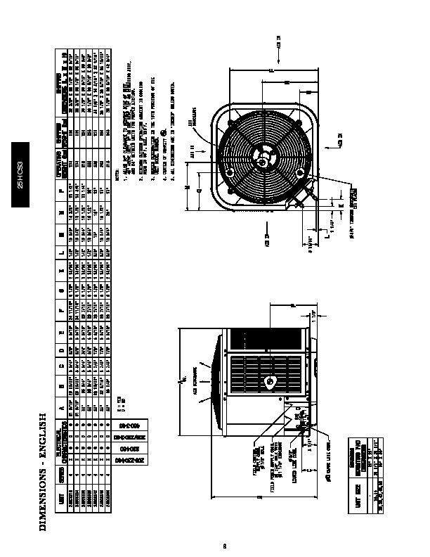 Carrier 25hcs3 2pd Heat Air Conditioner Manual