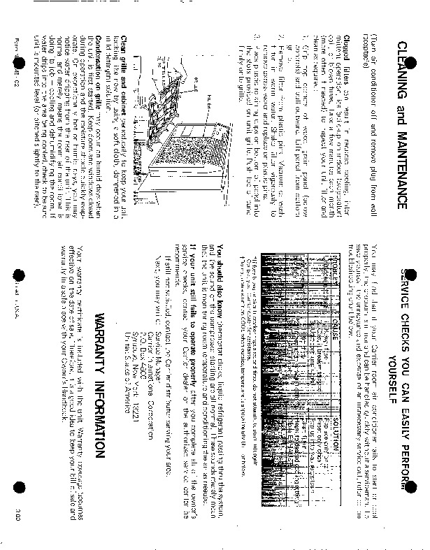 Carrier 51 C2 Heat Air Conditioner Manual