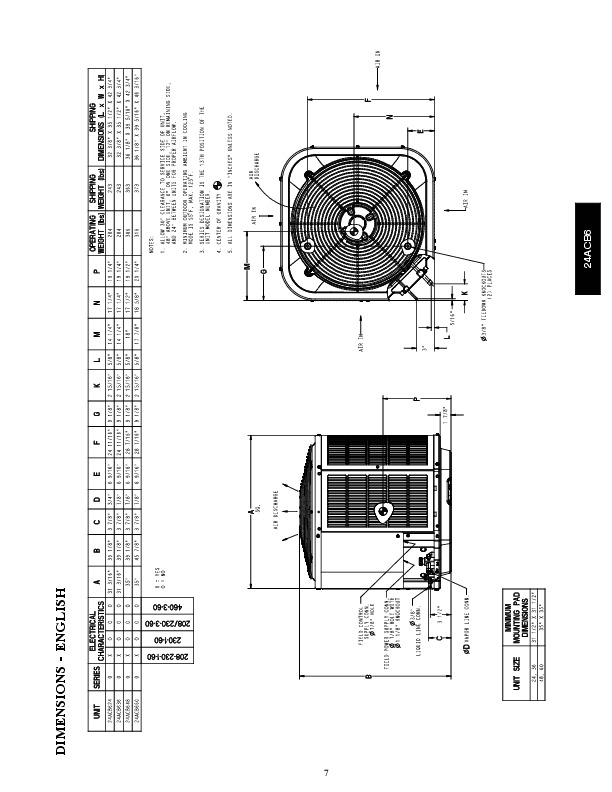 Carrier 24acb6 1pd Heat Air Conditioner Manual