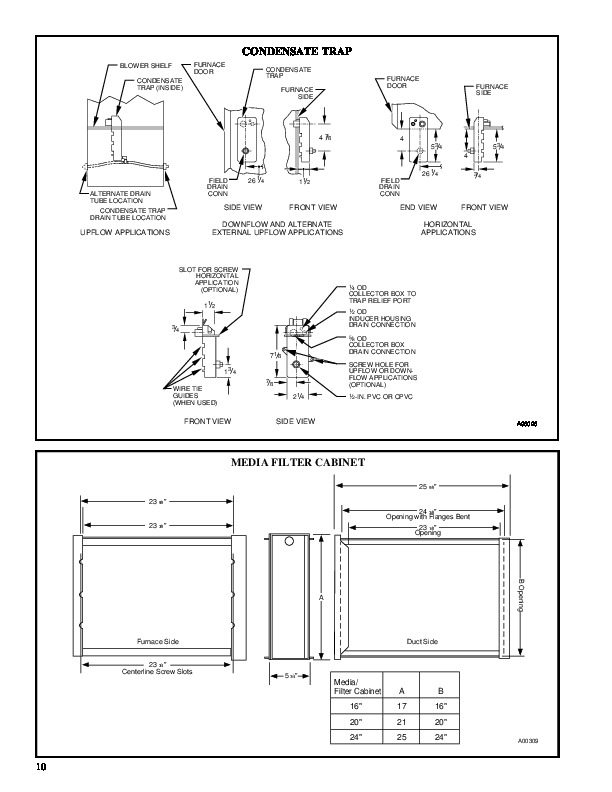 Carrier 58MTA 1PD Gas Furnace Owners Manual