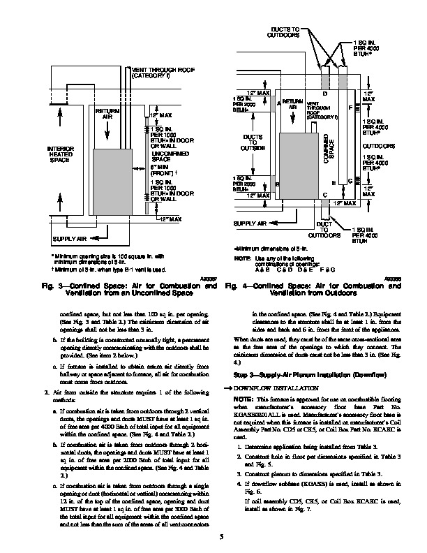 Carrier 58DXT 3SI Gas Furnace Owners Manual