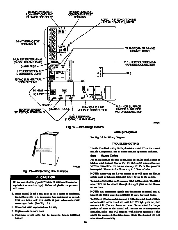 Carrier 58MTA 4SM Gas Furnace Owners Manual