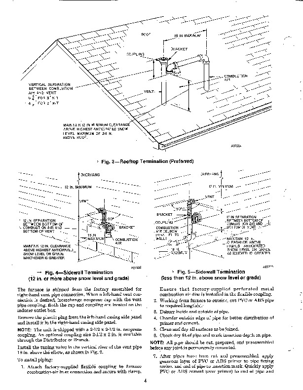 Carrier 58SX 10XA Gas Furnace Owners Manual