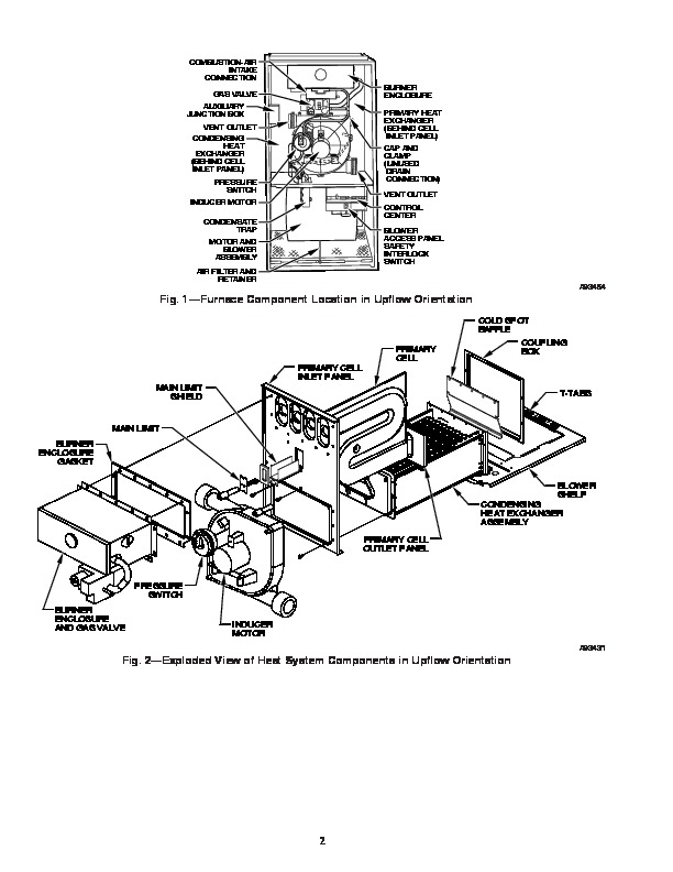 Carrier 58M 11SI Gas Furnace Owners Manual