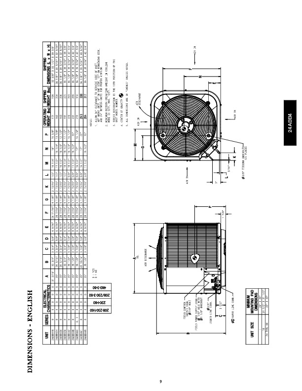 Carrier 24abb4 5pd Heat Air Conditioner Manual